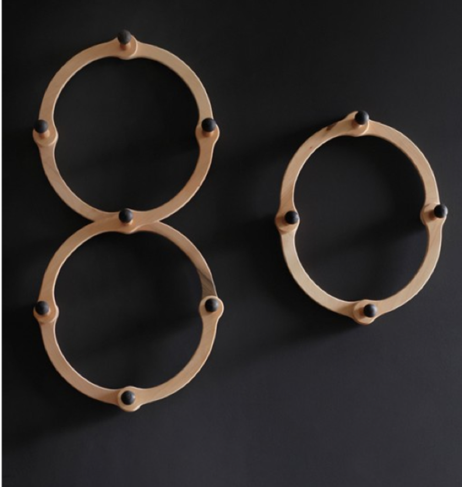 The Occordian coat rack from Lostine strikes a wonderfully pared-down note in the entryway. Its simple form feels at once modern and Shaker, and we love the clever functionality (its circular shape accordions from circle to oval). (price available upon request)  Dwell Holiday Gift Guide: For the One Who's Got It All by Dwell