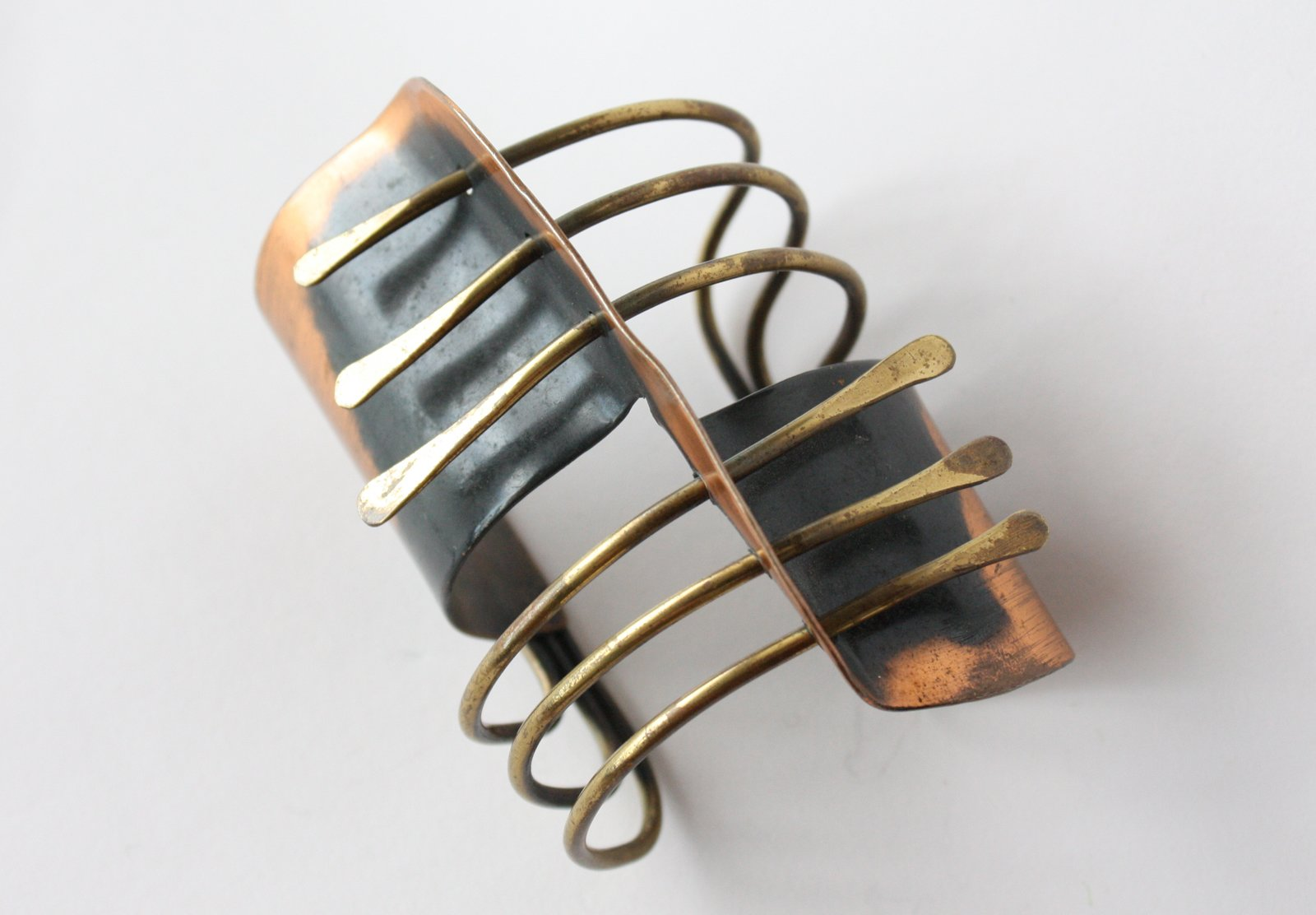 Modern Cuff, 1948. Brass, copper. By Art Smith.  Photo 6 of 10 in Design Miami and Art.sy: Partners in Design