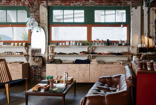 Stocking home goods, accessories, and furniture by close to 400 artisans and makers, the shop is equal doses global and homegrown.