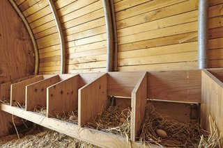 Radiant heating, one of the structure's amenties, is a coop must-have, according to Cassell.