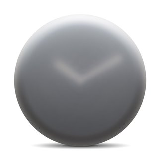 While he was designing the Hazy Wall Clock, Ivan Kasner was inspired by blurred images. For Kasner, the images created a sense of excitement, imagination, and—despite their blurred nature—a sense of clarity. The clock features a translucent face, which recalls the experience of looking through fogged or frosted glass.