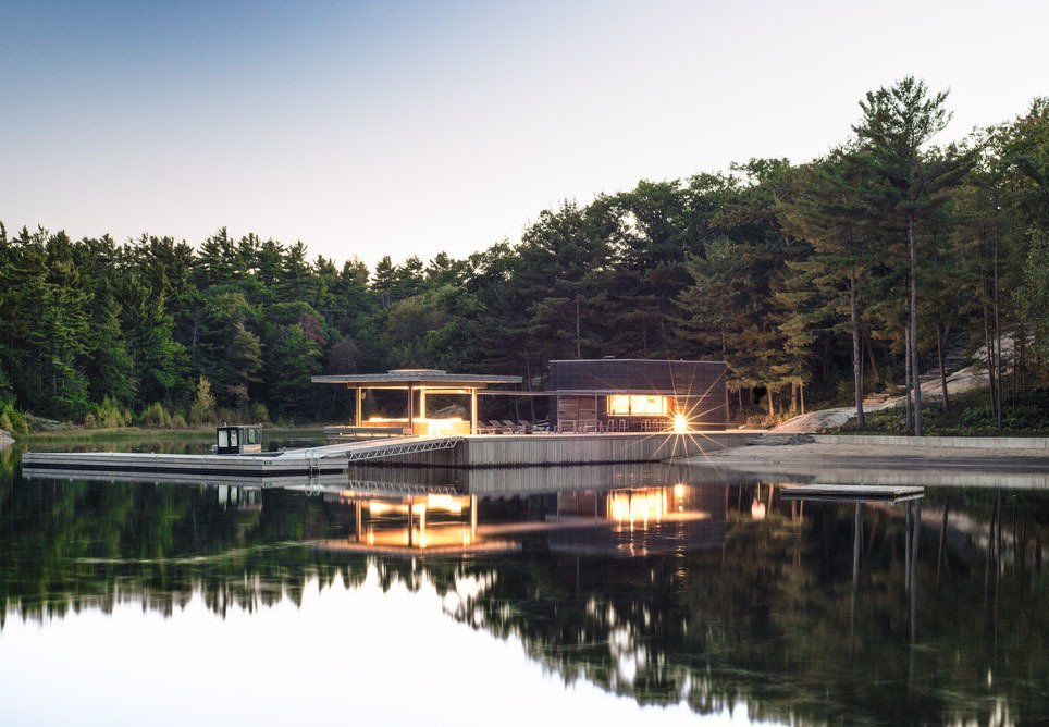 Articles about communal lakeside vacation house ontario on Dwell.com