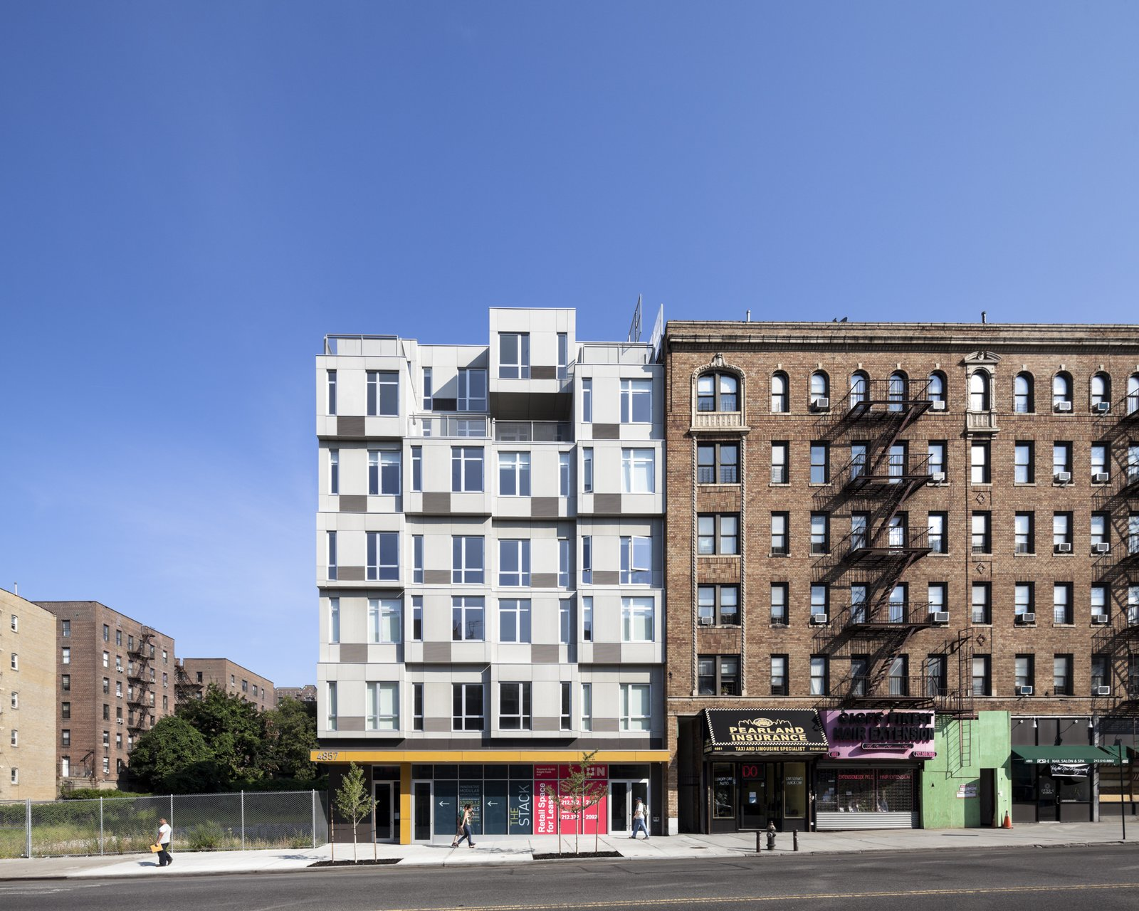 Creatively Stacked Modular Buildings Collection of 5 Photos by Allie ...