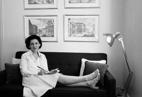 """Ada Louise Huxtable, photographed by Alfred Eisenstaedt for Life Magazine, 1974.  Search """"memoriam ada louise huxtable"""" from In Memoriam: Ada Louise Huxtable"""