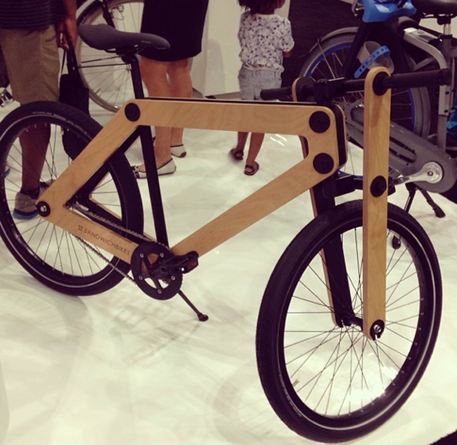 "@aplusrdesign: ""LOVE these wheels by @sandwichbikes @dwellmagazine #dod2014 #dtla #bicycle #design""  Dwell on Design 2014: Day Two in Instagrams by Allie Weiss"