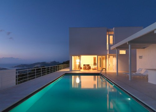Bodrum Houses in Turkey, 2007-present. (Copyright Richard Meier & Partners)  Photo 8 of 10 in Richard Meier's Practice at 50