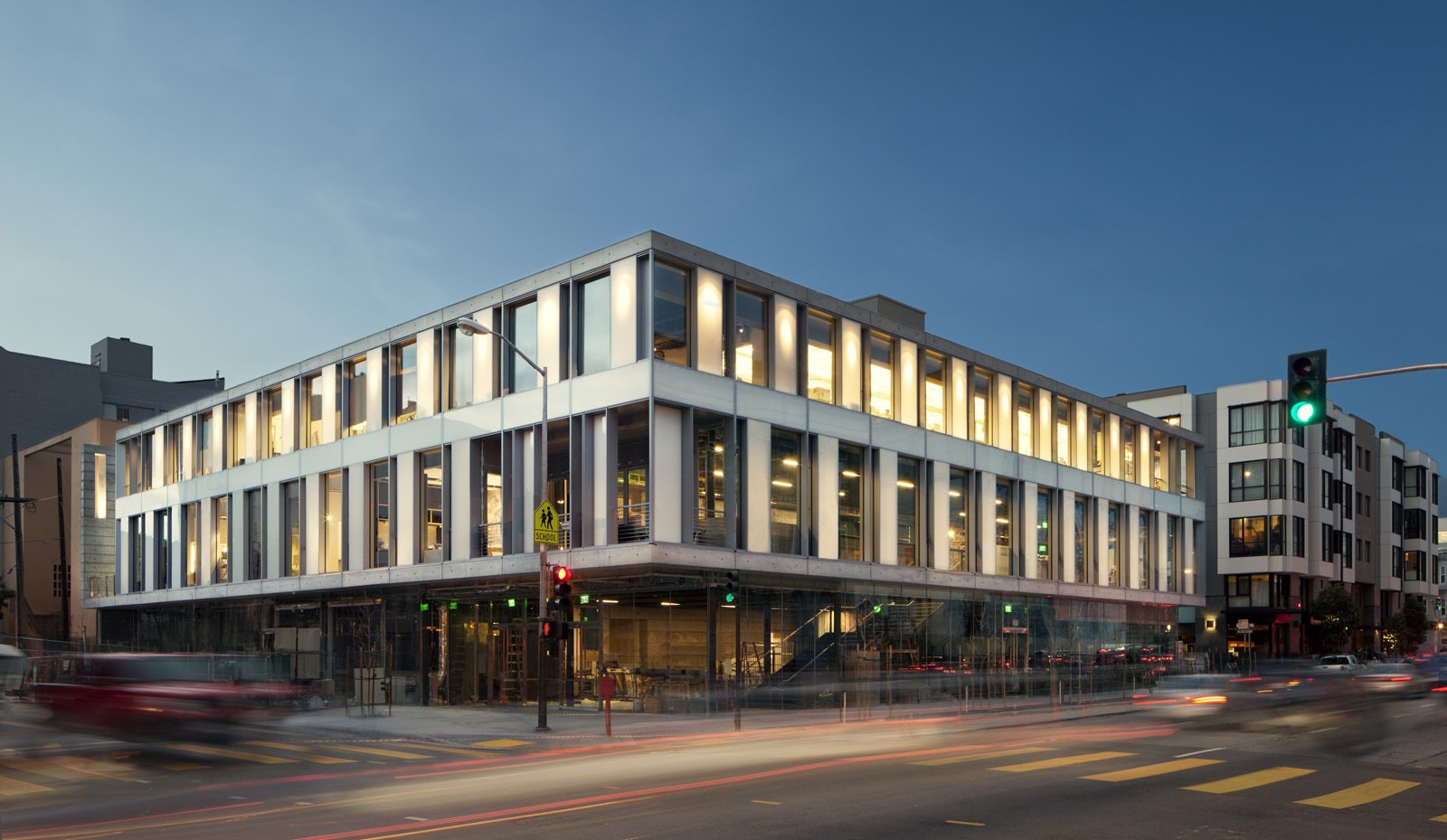 The SFJAZZ Center is located at the intersection of Fell and Franklin streets in San Francisco, California.  Photo 1 of 3 in A New Cultural Hub for San Francisco