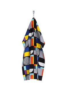 Made from a linen and cotton blend, the tea towel owns a chill retro vibe thanks to its bold graphics. $20 from usstore.marimekko.com.