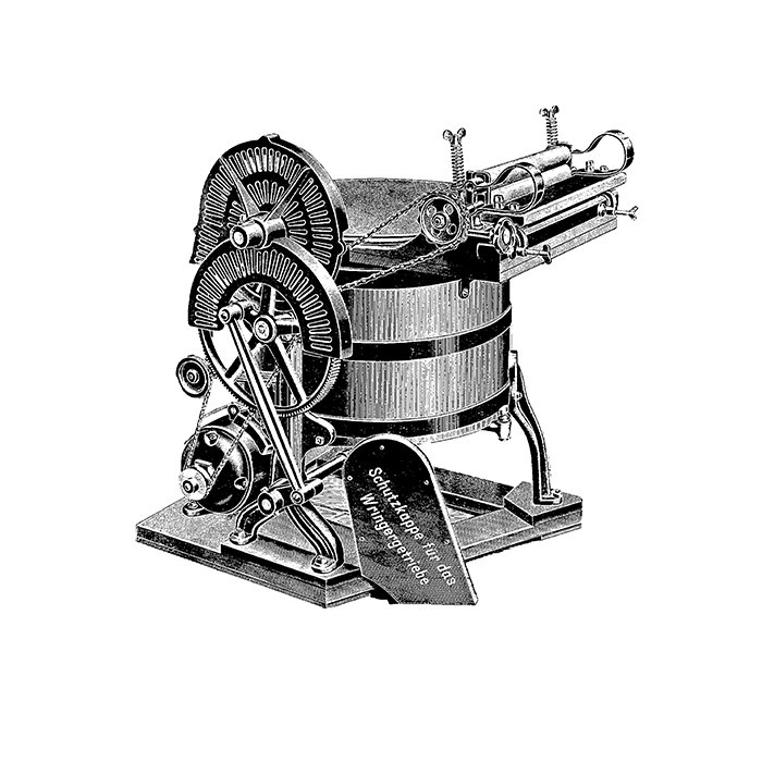 1911 - Miele introduces the first washing machine with its own electric motor.  Photo 1 of 7 in Miele Through the Years: Q&A with Markus Miele & Reinhard Zinkann