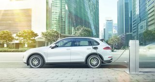 All four versions feature new fuel-saving functions, but the Cayenne S E-Hybrid take the gold when it comes to green. Capable of being driven on pure electric power, the trailblazing vehicle is the world's first plug-in hybrid luxury SUV.