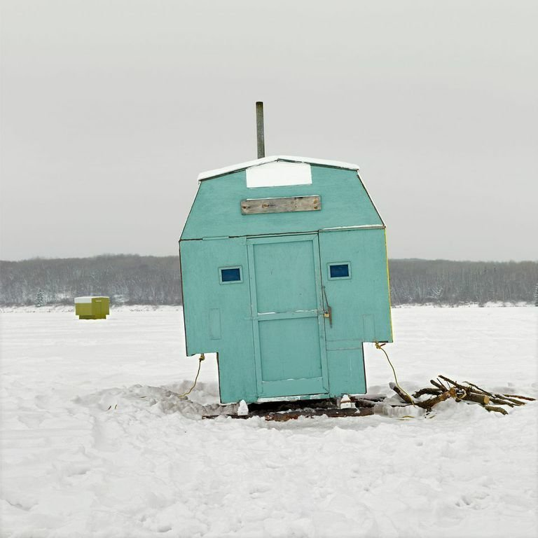 Anglin Lake, Saskatchewan, 2011  Photo 1 of 14 in Architecture Off the Grid: Quirky Ice Huts Dot Canada's Frozen Lakes