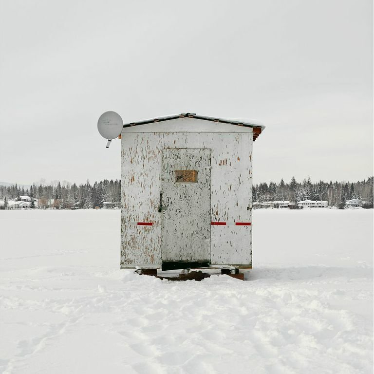 Dragon Lake, Quesnel, British Columbia, 2015  Photo 2 of 14 in Architecture Off the Grid: Quirky Ice Huts Dot Canada's Frozen Lakes