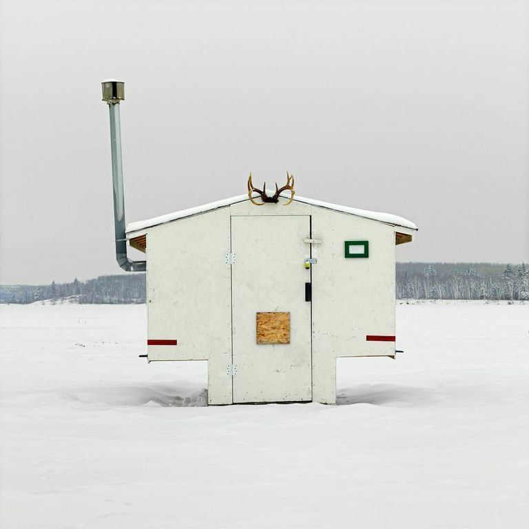 Anglin Lake, Saskatchewan, 2011  Photo 4 of 14 in Architecture Off the Grid: Quirky Ice Huts Dot Canada's Frozen Lakes