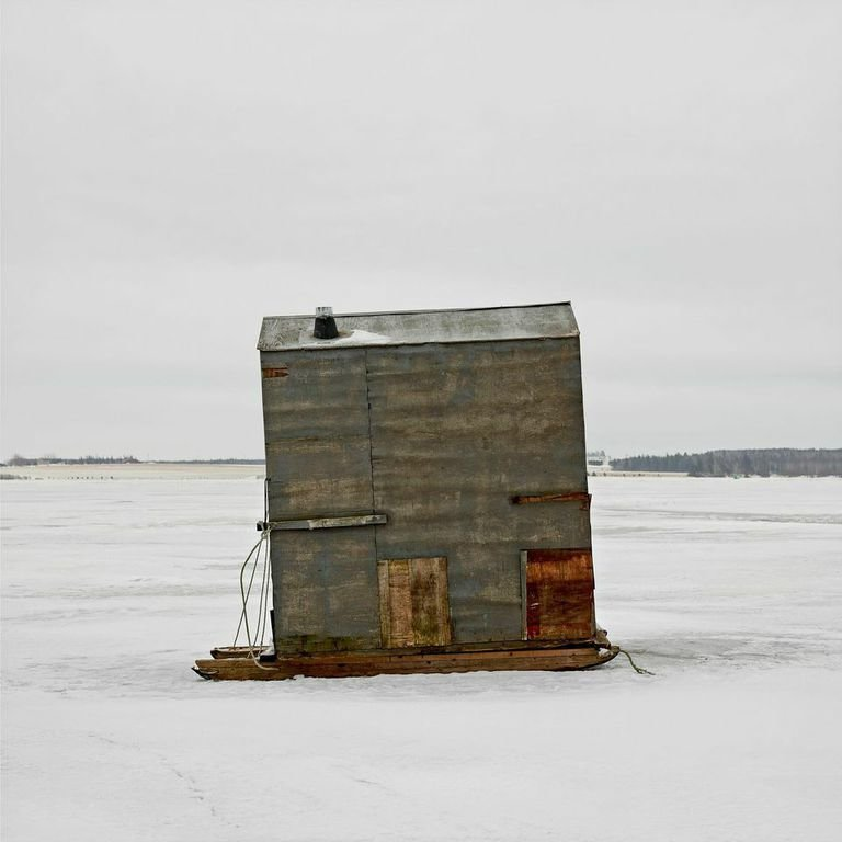 Bedeque Bay, Summerside, Prince Edward Island, 2009  Photo 5 of 14 in Architecture Off the Grid: Quirky Ice Huts Dot Canada's Frozen Lakes