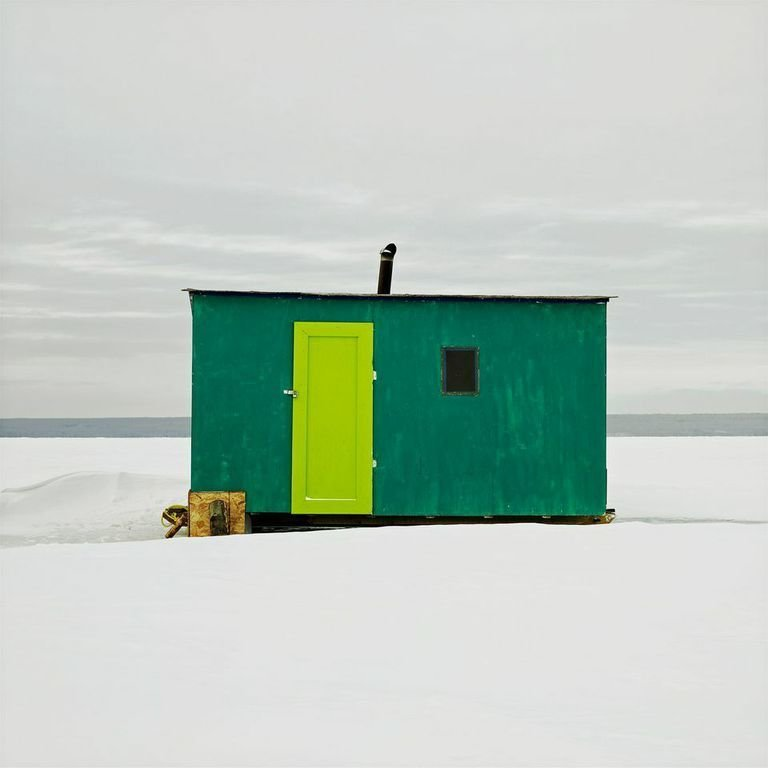 Joussard, Lesser Slave Lake, Alberta, 2011  Photo 10 of 14 in Architecture Off the Grid: Quirky Ice Huts Dot Canada's Frozen Lakes