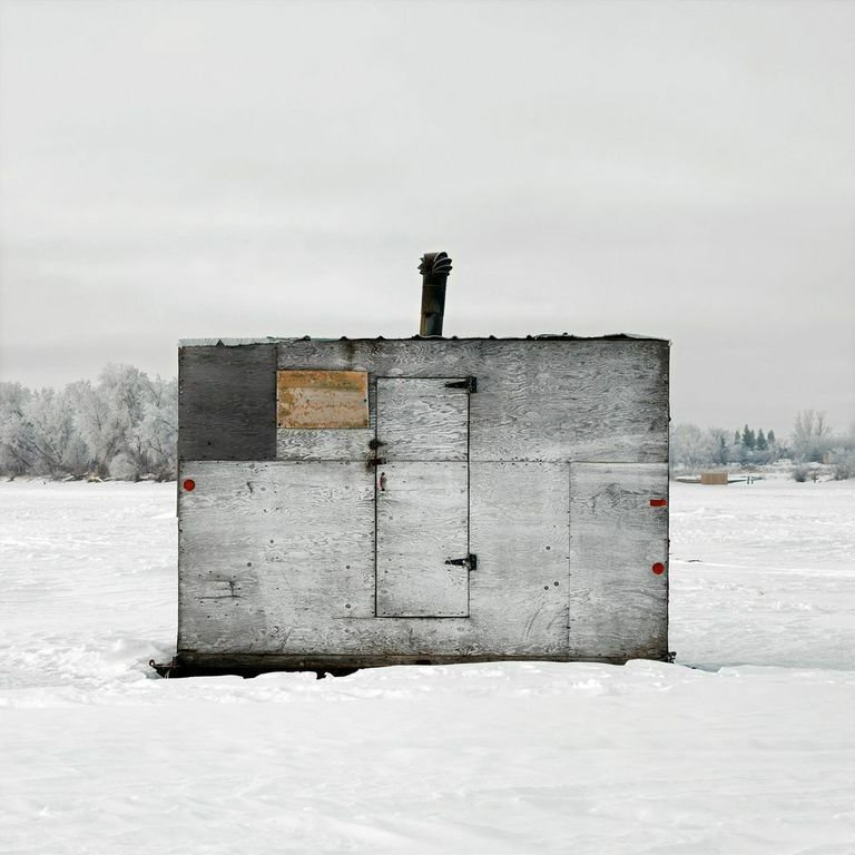 Selkirk, Red River, Manitoba, 2010  Photo 12 of 14 in Architecture Off the Grid: Quirky Ice Huts Dot Canada's Frozen Lakes