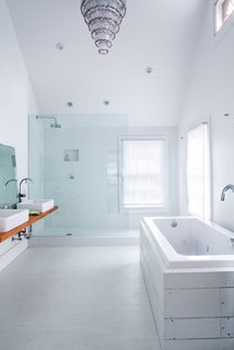 Salvaged Bathroom with a Vintage Touch