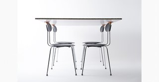 Takt Project designed 3-D printed products for Muji table and chairs.
