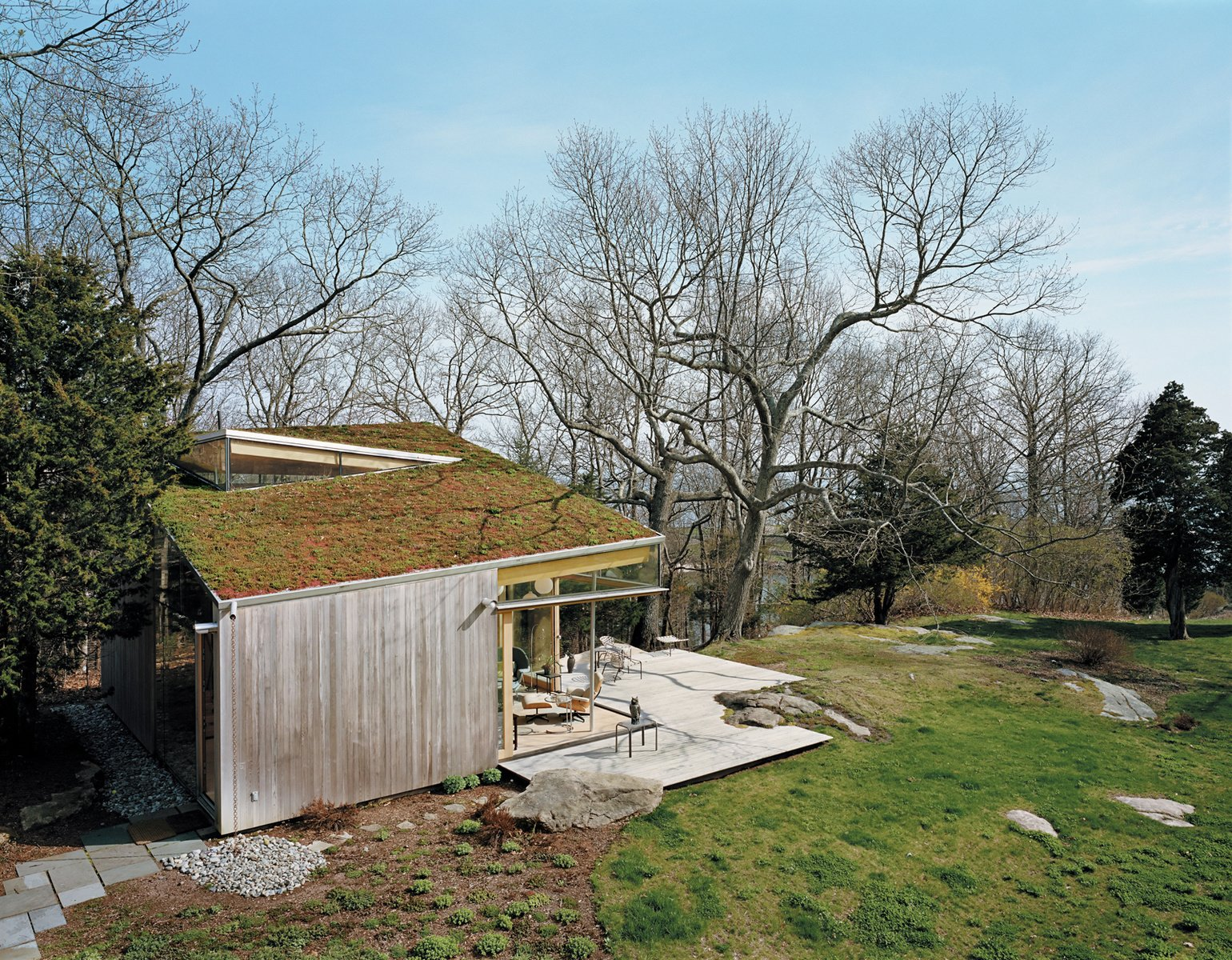 Green Roof Escapes Outside Of Cities By Luke Hopping From