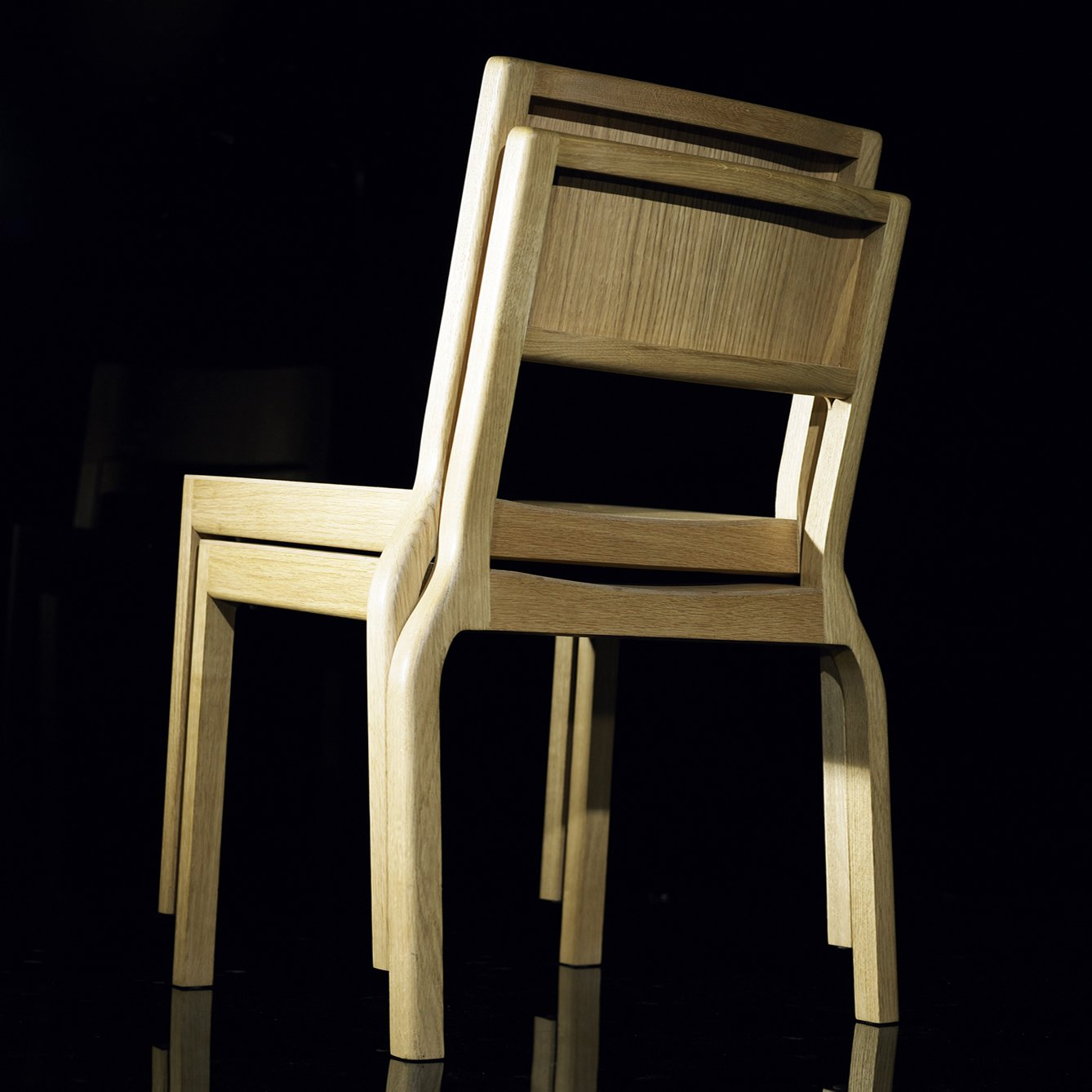 The Timber Stacker chair by Deadgood  Furniture Finds at ICFF by Dwell