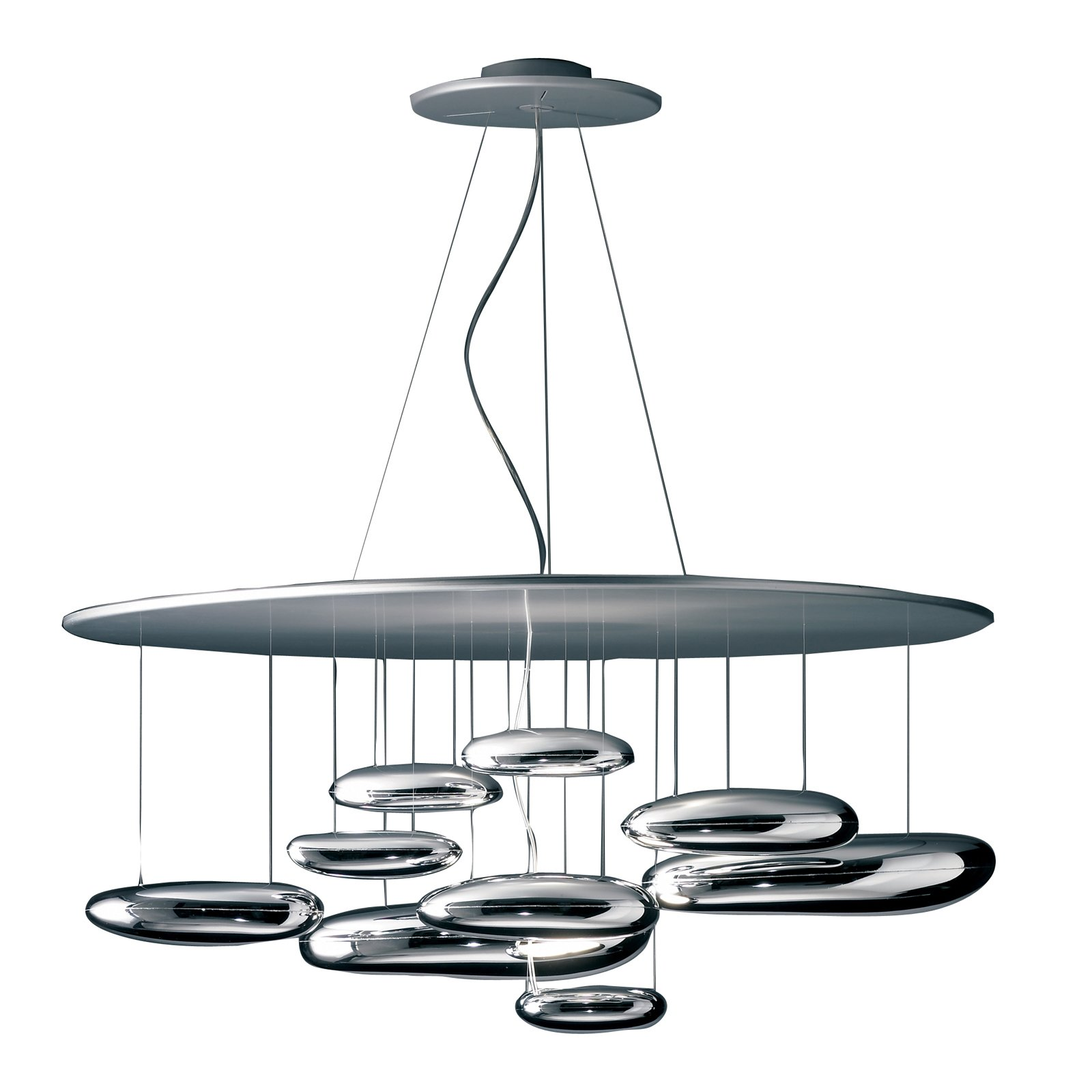 The Mercury Suspension Lamp by Ross Lovegrove for Artemide  Furniture Finds at ICFF by Dwell