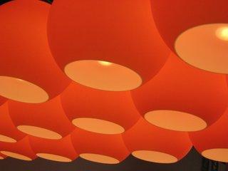 Tom Dixon's Flouro lights. We always love these.