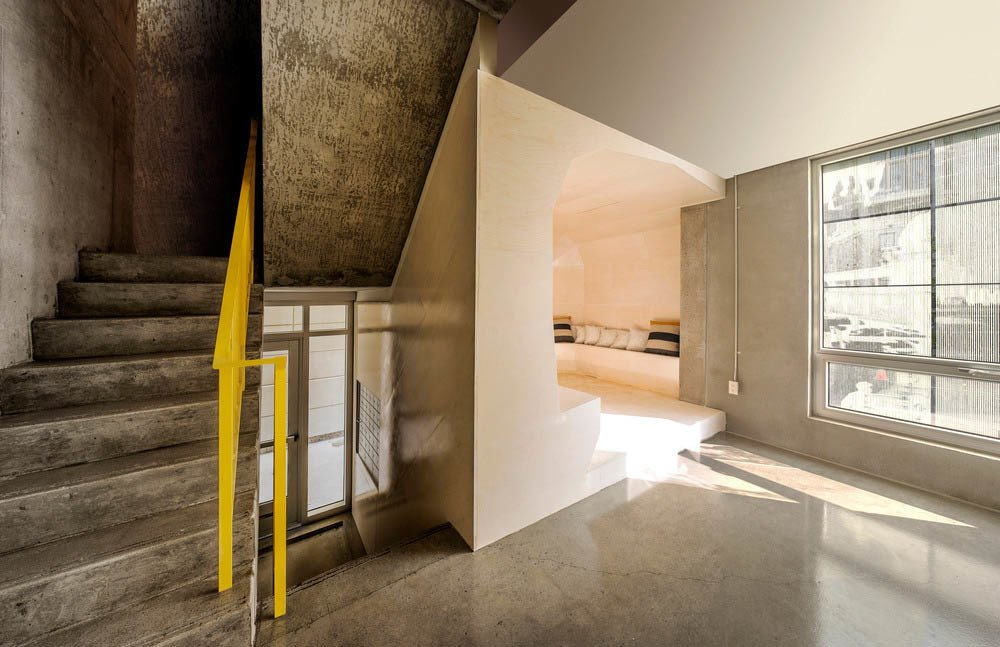 An interior view of the Edison Residence.  Photo 4 of 8 in Montreal Firm Receives Emerging Architectural Practice Award