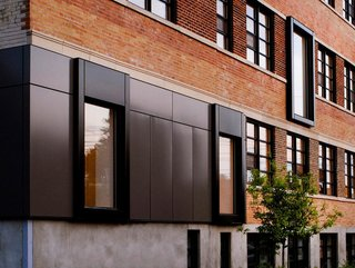 KANVA tackled an expansion of a Montreal apartment building, restoring the exterior and adding some modern elements while preserving the buildings original features.