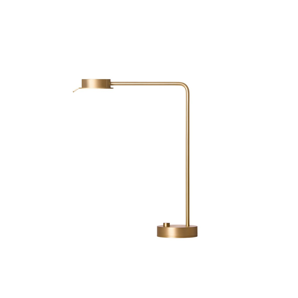 British architect David Chipperfield's w102 Brass Table Lamp for Wästberg is sleek, minimal, and fully dimmable.  Fall Design Trend: Gold, Brass, and Copper Accents by Megan Hamaker from Shine On