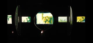 A zoomed-in color slide from Lolita (1962), made possible by a sliding viewer.