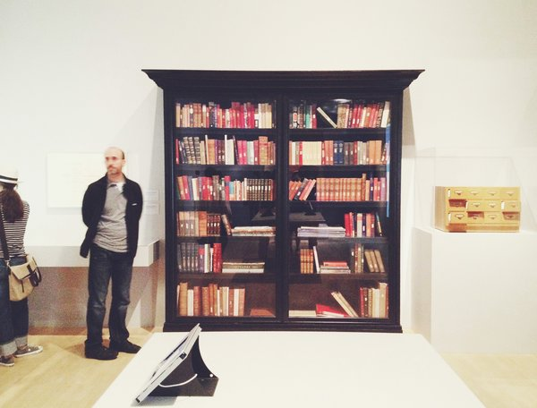 The research library containing 217 books for Napoleon, sadly one of several of the director's unrealized projects.