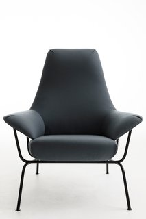 Hai lounge chair for One Nordic Furniture Company – A lounge chair that meets both the desire for a comfortable high quality piece of furniture with a strong personality, and the functional need to package it for online sales. The chair is made up of three modular components that are assembled on site. Photo courtesy of: One Nordic Furniture Company