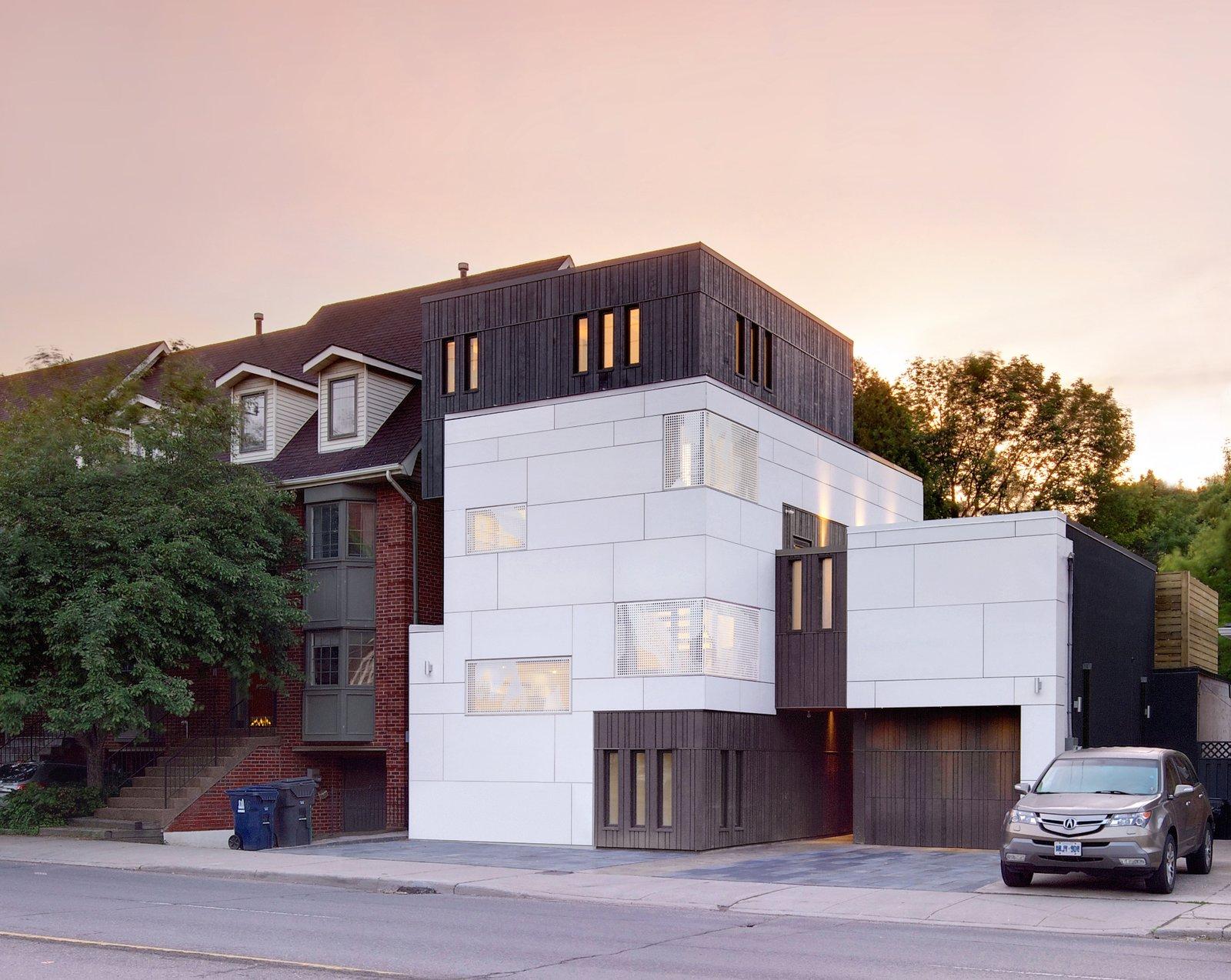 warehouse homes exterior