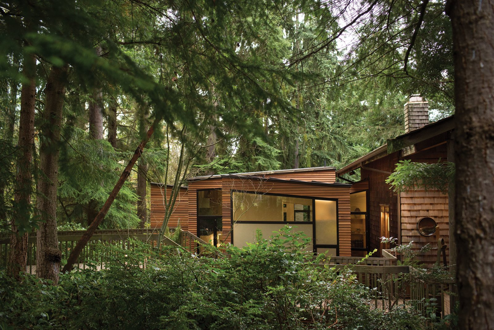 Tacoma, Washington–based architect Ko Wibowo of Architecture for Everyone will discuss his Stevens Addition, which he designed for Ken Stevens, an active, vibrant man who'd been diagnosed with Alzheimer's. Wibowo's clean-lined project is featured in the July/August 2014 issue.   Photo by Coral Von Zumwalt.  Photo 1 of 9 in Designing a Home to Accommodate Alzheimer's