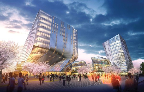 Alvin Huang, who leads SDA/Synthesis Design and runs the Architectural Association Visiting School Los Angeles (AAVSLA), will share how he uses novel architectural materials and the concept behind such proposed projects as the Shanghai Wuzhou International Plaza (pictured). He'll be joined by USC professor Doris Sung to discuss how technology can improve building science, making for smarter structures.