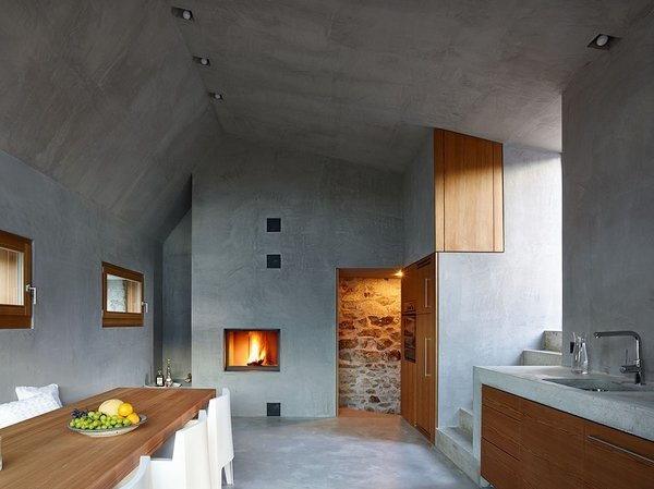 Scaiano Stone House Modern Home In Ticino Switzerland By J 233 R 244 Me De On Dwell