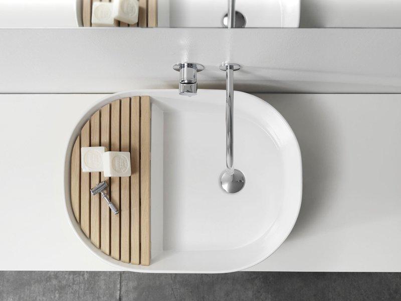 Whimsical design company Note created this Step sink to split the level of your sink so you can forget about soap residue on the counter.  Photo 3 of 5 in New from Note Design: 2013