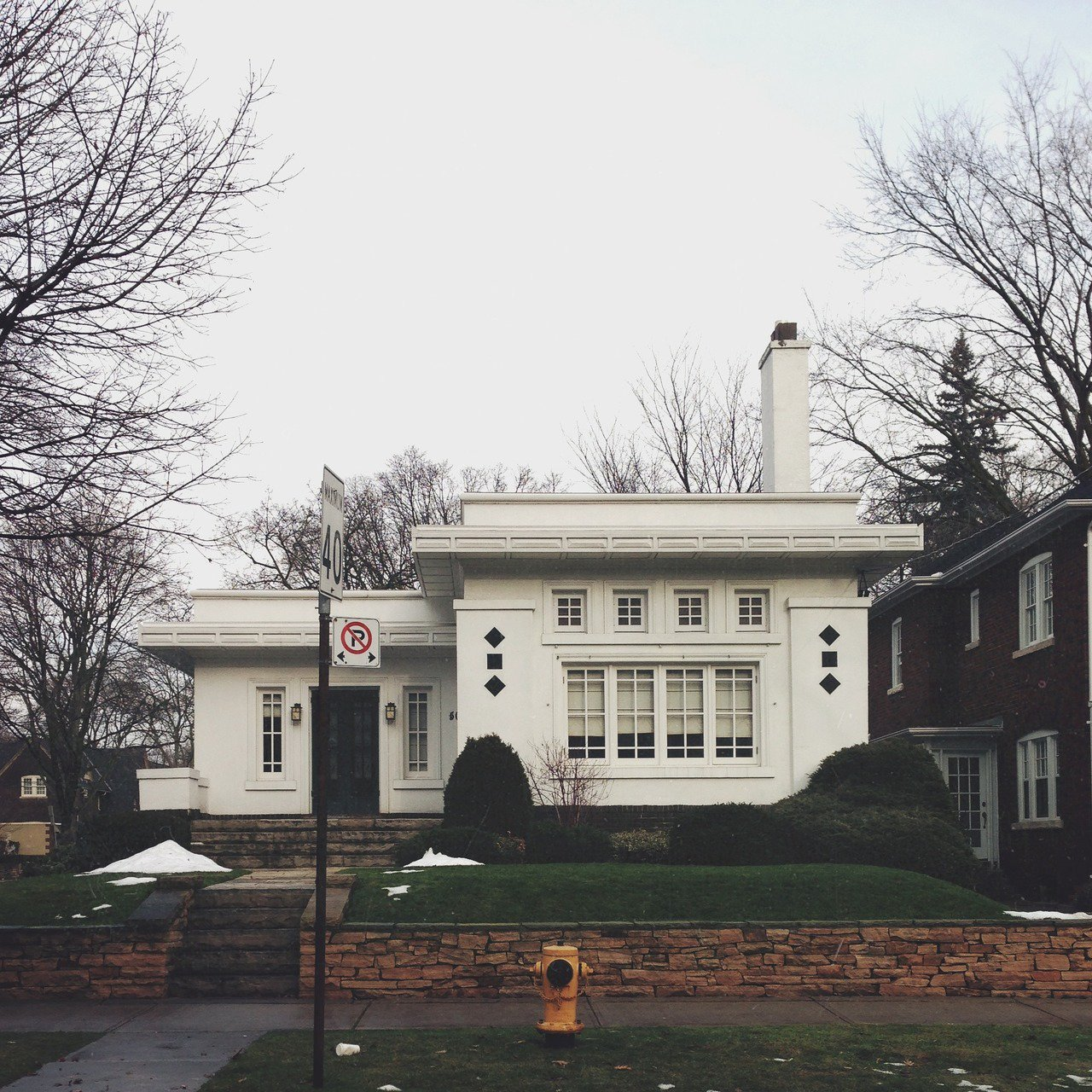 50 Heath Street W-Constructed in 1923, the McNamara House is a rare example of the Prairie School of architecture in Toronto.  Photo 2 of 10 in Toronto Houses by Kevin Morris