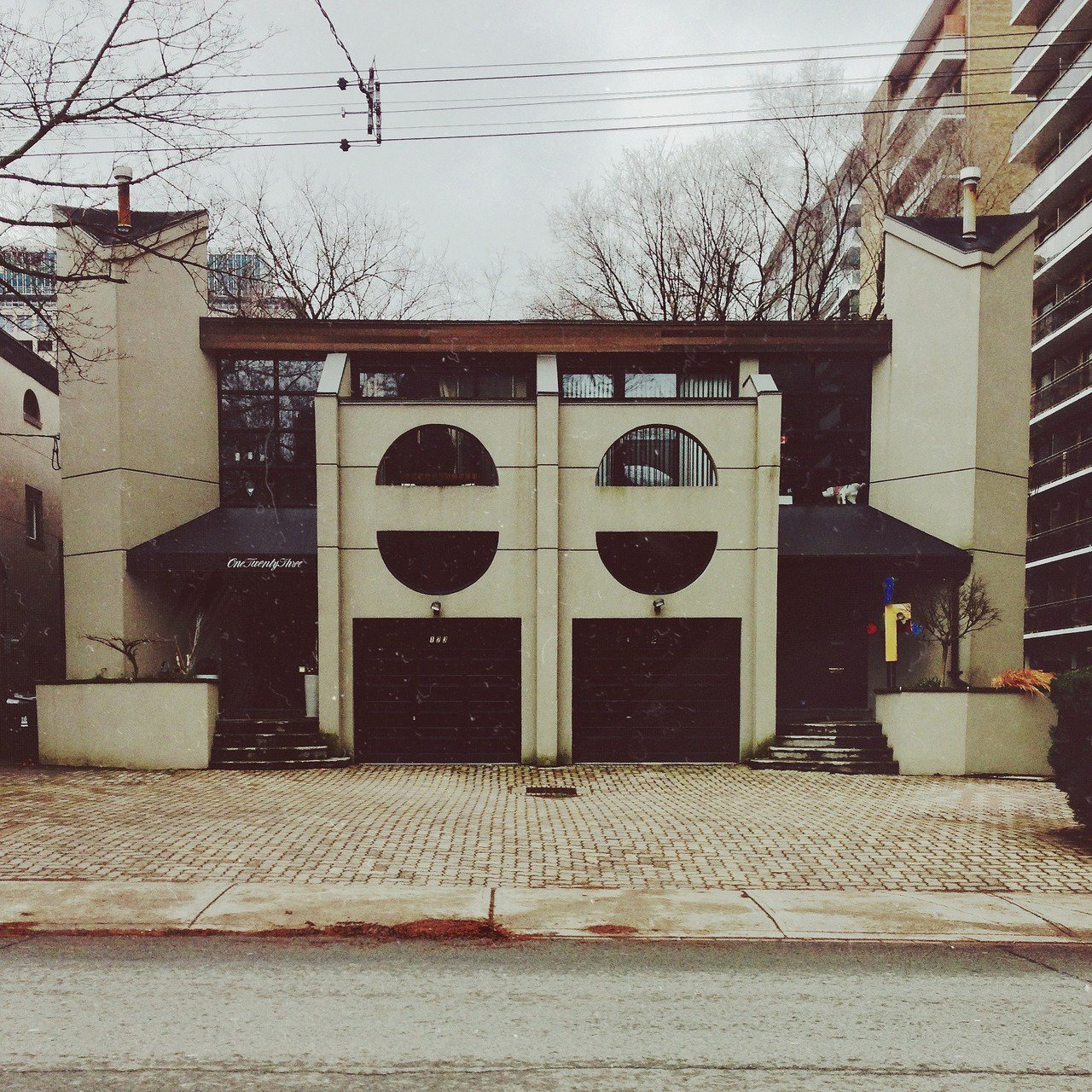 123 Heath Street W-This is an area where Imperial Oil's headquarters used to be, and there are remnants of the 60's 'high life' still in the neighborhood.  Photo 6 of 10 in Toronto Houses by Kevin Morris