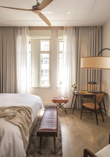Each suite at The Norman is one-of-a-kind, showcasing an aesthetic that blends old and new.