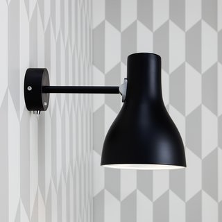 The Type 75 Wall Lamp is an elegant wall light that is designed to fit seamlessly into a modern home. The lamp is defined by its classic Anglepoise looks—it features clean lines and a simple shade. The Type 75 Wall light can be used on its own or paired with another Type 75 Wall light to frame a bathroom mirror, headboard, or desk.