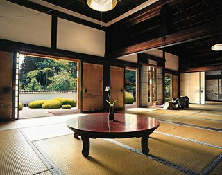 """Shōden-ji (2004) - Precursors to what we might today call """"user-centered design,"""" Buddhist temples are scaled to the 1:2 ratio of the tatami, the rush mat designed with the human form in mind."""