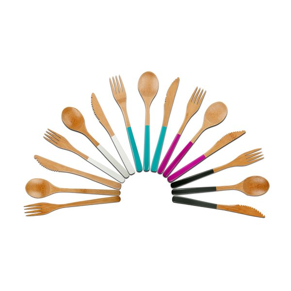 This chic, reusable cutlery is made from organic, food-safe bamboo and water-based adhesives, and finished with premium natural oils. Set the perfect picnic table in safe, natural style.