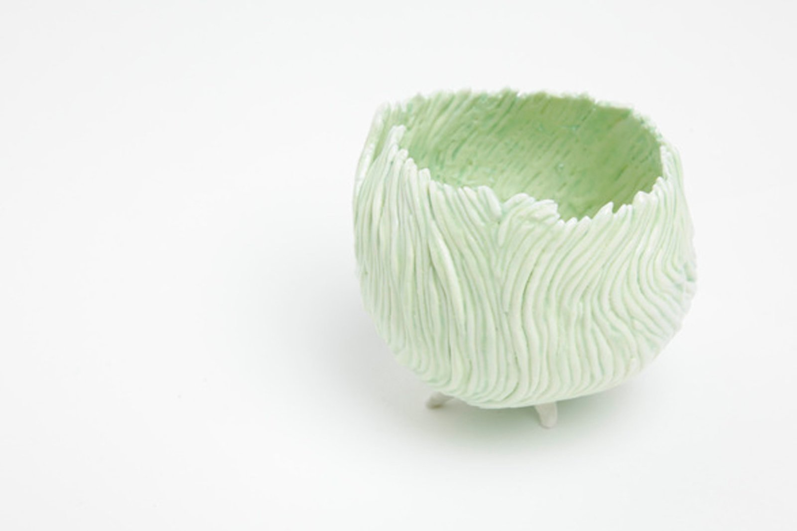 Swirl vase by Susanne Harder, $234. Susanne Harder is a Danish ceramicist whose delicate work is exclusively sold at Totokaelo.  Shop Talk: 10 New Pieces from Totokaelo Art—Object by Kelsey Keith