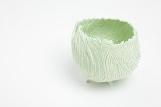 Swirl vase by Susanne Harder, $234. Susanne Harder is a Danish ceramicist whose delicate work is exclusively sold at Totokaelo.