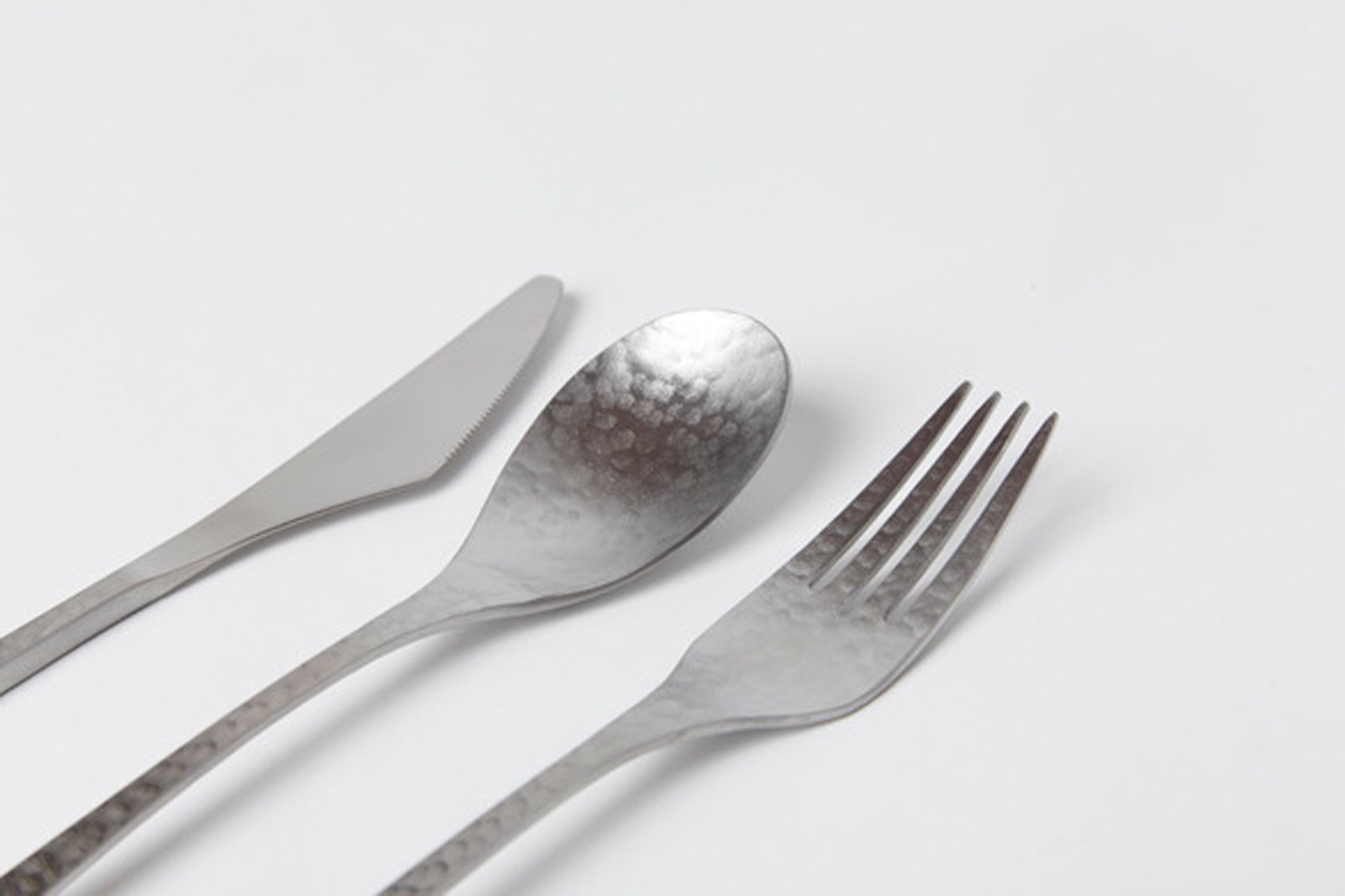Wasabi Knife, Spoon, and Fork by Sohdo, $16 to $18 each. (Hint: For more cutlery, skip over to a recent Dwell.com post on new modern flatware designs.)  Shop Talk: 10 New Pieces from Totokaelo Art—Object by Kelsey Keith
