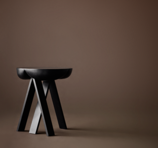 Side table by Karakter, Hall 15 Stand C32, at Rho.