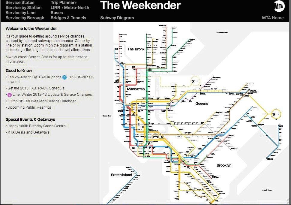 Alternative Nyc Subway Map.Photo 7 Of 7 In Standing Room Only The Vignelli Subway Map Dwell