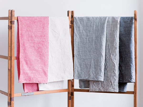 What's your favorite kind of towel?   For the bath: 100 percent linen from Fog Linen. It is quick to dry and so great on the skin.  Bath towels from Fog Linen from $52.