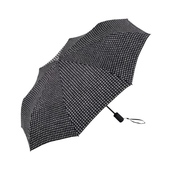 A slightly roomier umbrella opening with a bold and masculine print, the Karakola AOC MAX Umbrella from Marimekko is as stylish as it is functional. The lightweight umbrella features a windproof aluminum frame.